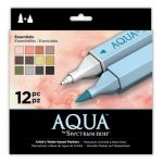 Spectrum Noir Aqua Markers 12pk - Essentials