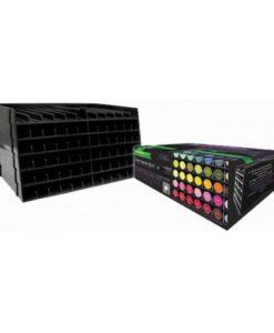 Spectrum Noir - Opbergsysteem voor 72 Markers Zwart