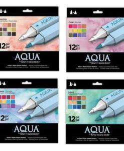 Spectrum Noir Aqua Markers - 4 x set van 12