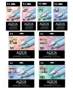 Spectrum Noir Aqua Markers - Complete Set