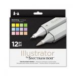 Spectrum Noir Illustrator (12PC) - Sketching