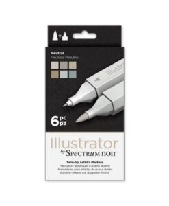Spectrum Noir Illustrator (6PC) - Neutral