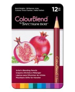 Spectrum Noir 12 ColourBlend Potloden - Bold Brights