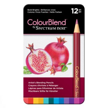 Spectrum Noir 12 ColourBlend Potloden – Bold Brights