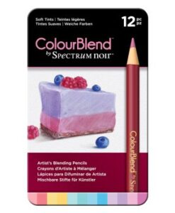 Spectrum Noir 12 ColourBlend Potloden - Soft Tints