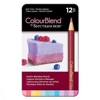 SPECCB-SOFT12 Spectrum Noir 12 ColourBlend Potloden – Soft Tints