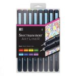 Spectrum Noir Artliner 8pk - Bright