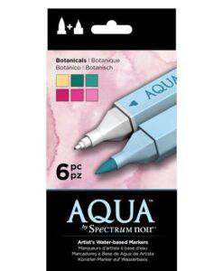 Spectrum Noir Aqua Markers 6pk – Botanicals