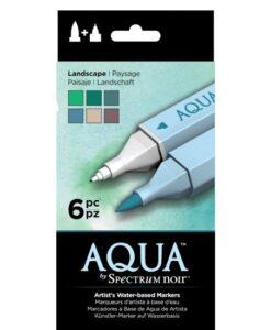 Spectrum Noir Aqua Markers 6pk – Landscape