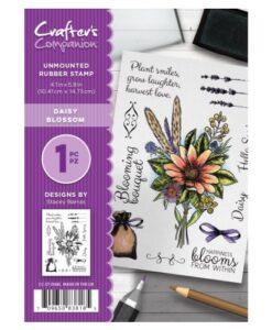 Crafter's Companion A6 Stempel – Daisy Blossom