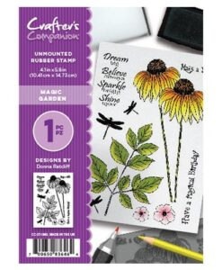 Crafter's Companion A6 Stempel – Magic Garden