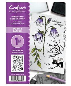 Crafter's Companion A6 Stempel – Sparkle Garden