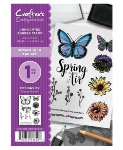 Crafter's Companion A6 Stempel – Spring is in the Air