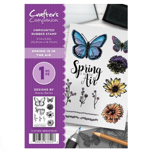 CC-ST-SIITA Crafter's Companion A6 Stempel – Spring is in the Air