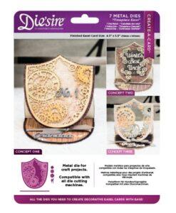 Die'sire Create a Card – Timepiece Easel