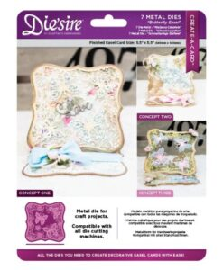 Die'sire Create a Card – Butterfly Easel