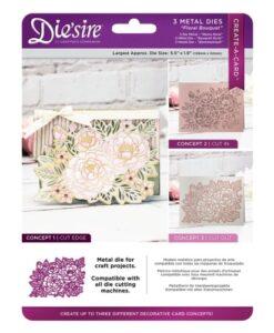 Die'sire Create a Card Cut on Edge – Floral Bouquet