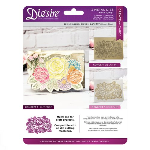 Die'sire Create a Card – Floral Spray