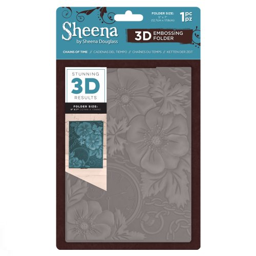 Sheena Douglass 3D Embossing Folder – Chains of Time
