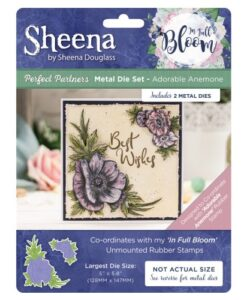 Sheena Douglass In Full Bloom Die - Adorable Anemone