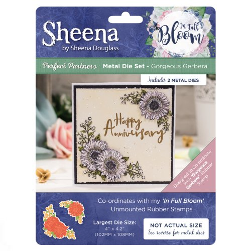 Sheena Douglass In Full Bloom Die - Gorgeous Gerbera