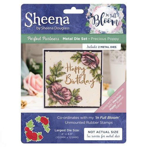 SD-PPMD-IFB-PP Sheena Douglass In Full Bloom Die – Precious Poppy