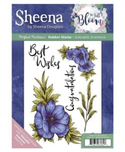 Sheena Douglass Perfect Partners UM Stamp – Adorable Anemone