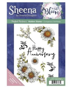 Sheena Douglass Perfect Partners UM Stamp – Georgeous Gerbera