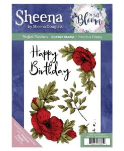 Sheena Douglass Perfect Partners UM Stamp – Precious Poppy