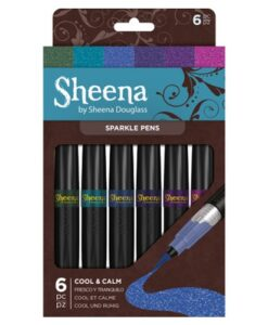 Sheena Douglass Sparkle Pens – Cool & Calm