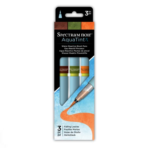 Spectrum Noir AquaTint Brush Pens – Falling Leaves