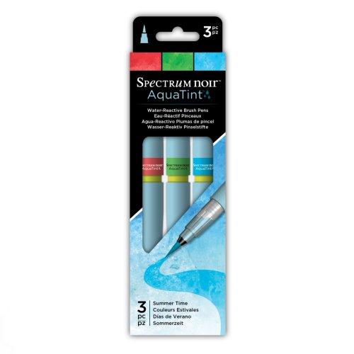 Spectrum Noir AquaTint Brush Pens – Summer Time