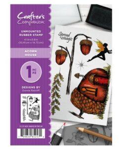 Crafter's Companion A6 UM Stempel – Acorn House