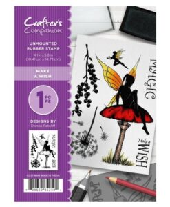 Crafter's Companion A6 UM Stempel – Make A Wish