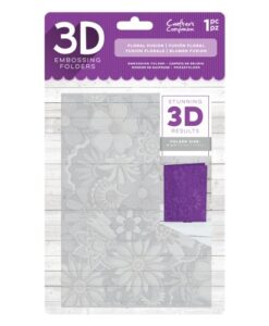 3D Embossing Folder - Floral Fusion