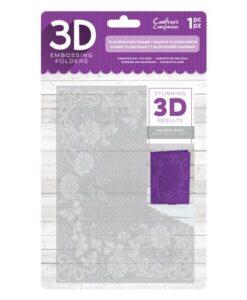 3D Embossing Folder - Flourishing Frame