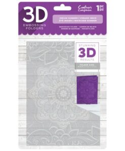 3D Embossing Folder - Indian Summer