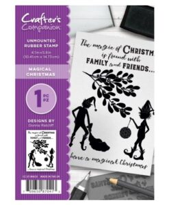 Crafter's Companion A6 UM Stempel – Magical Christmas