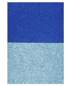 Eazycraft Glitter Papier – Blauw - Aqua