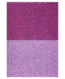 Eazycraft Glitter Papier – Fuchsia - Rose