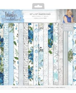 Sara Signature Collection Paper Pad - Winter Wonderland 30.5 x 30.5 cm