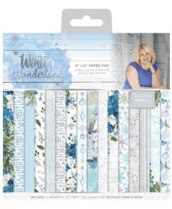 Sara Signature Collection Paper Pad - Winter Wonderland 15 x 15