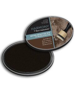 Spectrum Noir Inkpad Harmony Water Reactive – Seal Brown