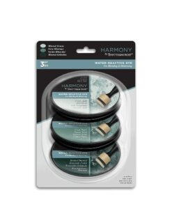 Spectrum Noir Inkpad (3PC) Harmony Water Reactive - Mineral Greens