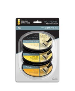 Spectrum Noir Inkpad (3PC) Harmony Water Reactive - Summer Yellows