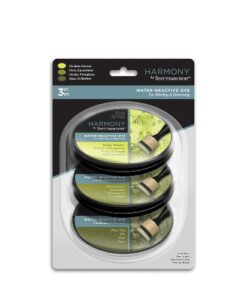 Spectrum Noir Inkpad (3PC) Harmony Water Reactive - Verdant Greens