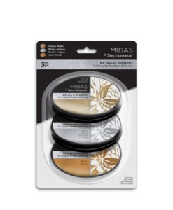 Spectrum Noir Inkpad (3PC) Midas Metallic - Antique Metals