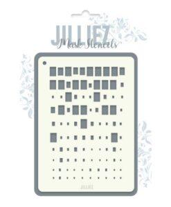 Jilliez Mask Stencil A6 - 0001