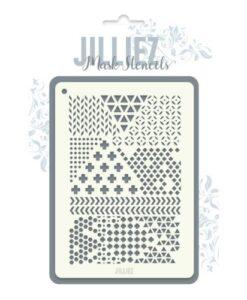 Jilliez Mask Stencil A6 - 0005