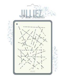 Jilliez Mask Stencil A6 - 0006
